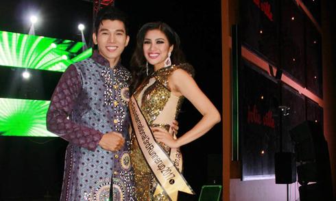 Ngọc Tình chúc mừng Nguyễn Thị Thành đoạt ngôi Á hậu 3 Miss Eco