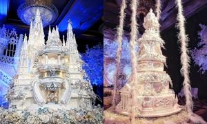 Những chiếc bánh cưới 'siêu khủng' của đại gia Indonesia