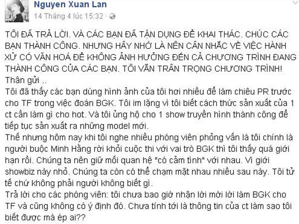 xuan-lan-buc-xuc-khi-bi-don-chen-ep-minh-hang-o-the-face-2017