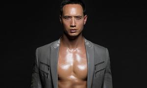 Kim Lý cá tính và sexy khi làm mẫu ảnh