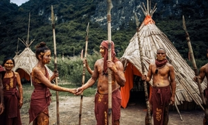 Ảnh cưới tái hiện phim King Kong tại 'đảo Đầu Lâu' của đôi 9X Ninh Bình