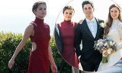 Selena Gomez quyến rũ trong đám cưới bạn thân