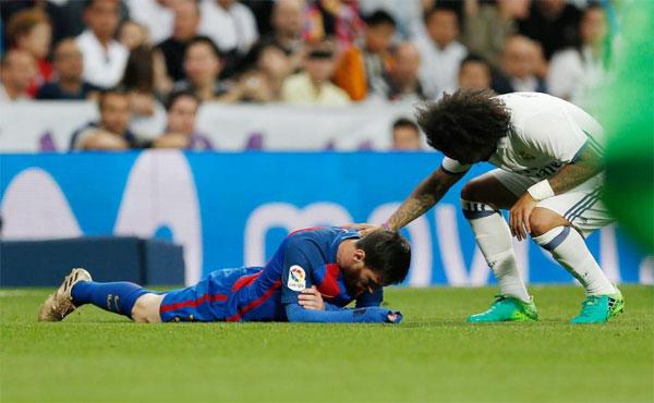 Marcelo tới thăm hỏi