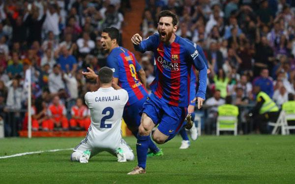 Với hai bàn thắng ghi được trong trận El Clasico, Messi có 500 bàn thắng trong màu áo Barca