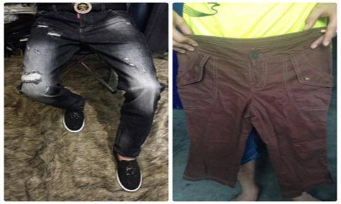 Thanh niên 9X dở khóc dở cười vì mua quần áo online