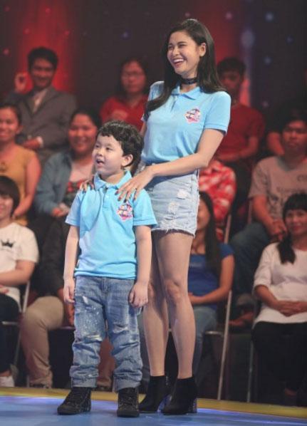 Giọng ca Họa Tâm là một trong những bà mẹ nổi tiếng của showbiz Việt rất chăm chỉ đưa con tham gia các hoạt động, sự kiện dành cho trẻ.