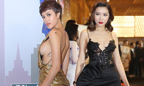 Sao Việt đọ nét gợi cảm với váy hở