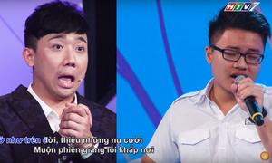 Trấn Thành há hốc miệng khi nghe nam sinh 17 tuổi hát karaoke