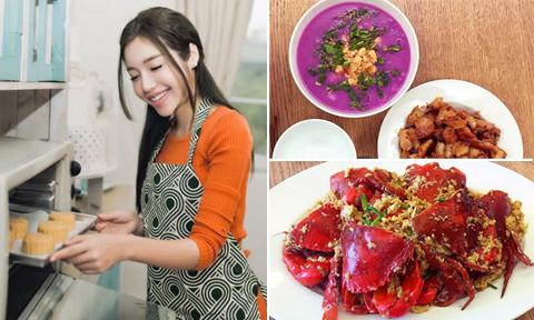 Thực đơn cơm nhà 200 món ngon của 'mẹ đảm' Elly Trần