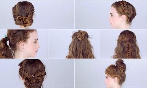 6 kiểu tóc vừa đẹp vừa dễ tạo kiểu cho nàng tóc dài