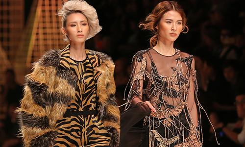 Lê Thanh Hoà kết màn ấn tượng cho 'Tuần lễ thời trang quốc tế Việt Nam'