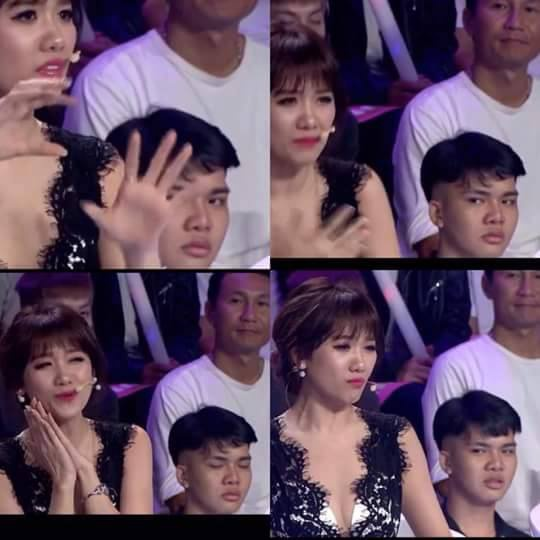 chang-trai-tre-khon-don-vi-liec-xeo-hari-won-tren-song-truyen-hinh