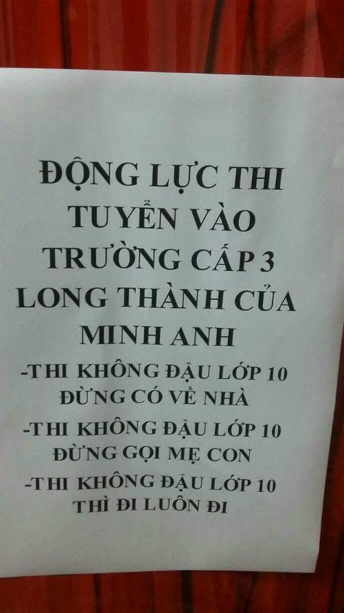 me-doa-con-neu-khong-thi-do-cap-3-thi-cho-di-luon