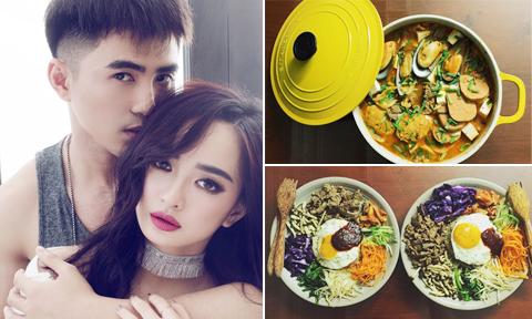Cặp đôi 'Em chưa 18' vun đắp tình cảm bằng những bữa cơm ngon