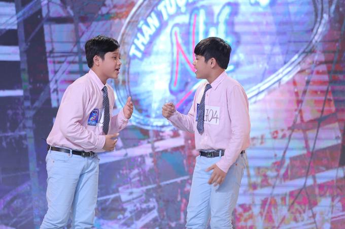 Hai anh em song sinh hần thi của Hà Trọng Vũ  Hà Trọng Sáng (10 tuổi) - Thanh Hoá:
