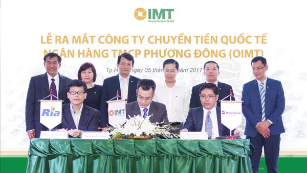 Lễ kí kết hợp tác giữa OIMT và các đối tác