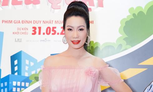 Á hậu Trịnh Kim Chi 46 tuổi vẫn trẻ trung, gợi cảm