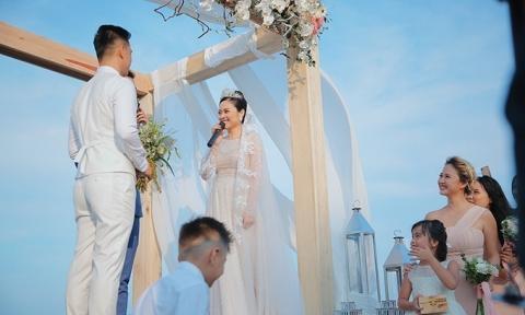 Đám cưới bạc tỷ bên bờ biển của 'mẹ hai con' 8X nổi tiếng