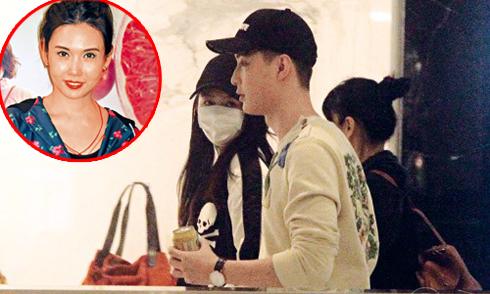 Con gái tuổi teen của 'Bom sex Hong Kong' bị 'soi' khi đi chơi với bạn trai