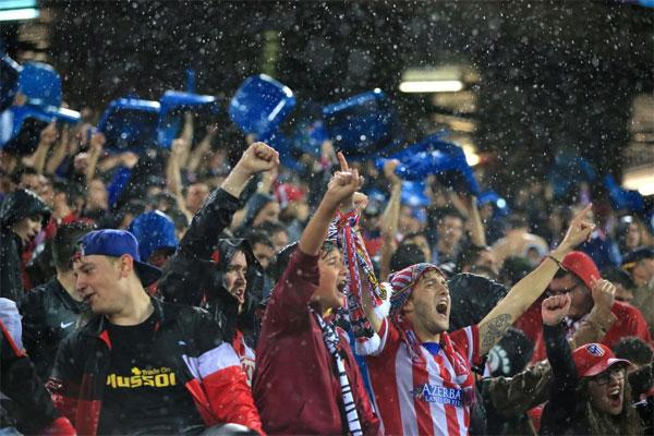 Tuy nhiên, các CĐV Atletico quên mất rằng họ vẫn còn một trận đấu nữa trên sân nhà