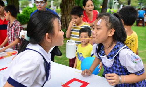 35 trò chơi vui nhộn cho trẻ ở Phú Mỹ Hưng