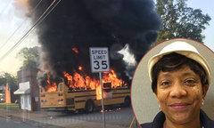 Nữ tài xế giải thoát 56 em nhỏ khỏi hỏa hoạn