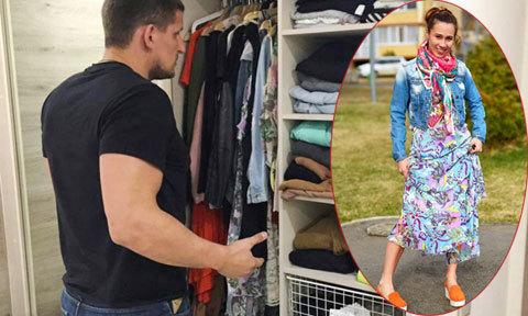 Bạn sẽ ngạc nhiên khi được chồng chọn quần áo cho mặc đi làm mỗi sáng