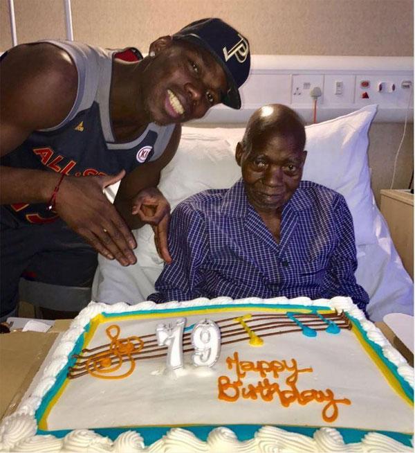 Pogba mừng sinh nhật tuổi 79 của bố cuối tháng 3.