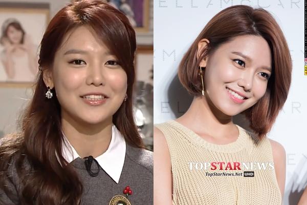 Sooyoung gần như thay đổi hoàn toàn sau khi cắt tóc ngắn. Trông cô xinh đẹp và tươi tắn hơn rất nhiều.
