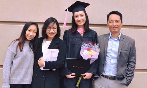 Mỹ Linh - Anh Quân mừng con gái tốt nghiệp trường âm nhạc hàng đầu tại Mỹ