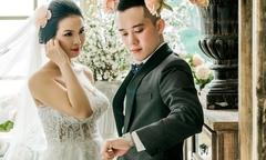 Rapper 'Tuyết yêu thương' khoe ảnh cưới style Hàn Quốc
