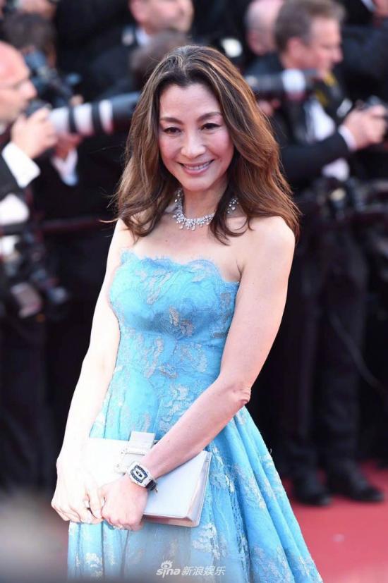 Diễn viên Dương Tử Quỳnh, gương mặt quen của các mùa Cannes.