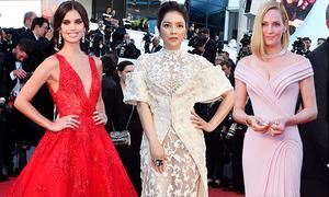 10 sao mặc đẹp nhất lễ khai mạc Cannes 2017