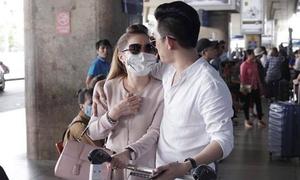 Bảo Duy và bạn gái mới bị bắt gặp quấn quýt ở sân bay