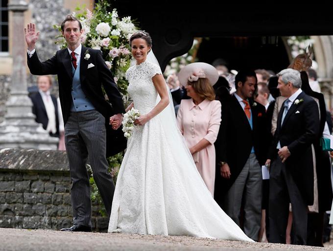 Hôm nay (20/5) theo giờ Anh, đám cưới sang chảnh và hoành tráng của Pippa Middleton, em gái công nương Kate Middleton đã được diễn ra tại nhà thờ St Marks ở Berkshire.