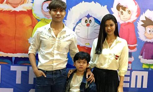 Sau ly hôn, Trương Quỳnh Anh và Tim vẫn vui vẻ đi xem phim cùng nhau
