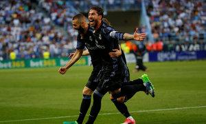 Malaga 0-2 Real Madrid