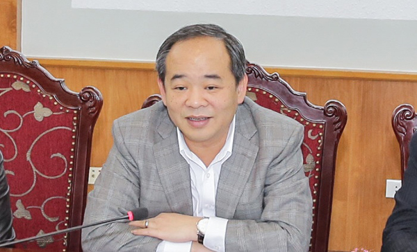 Ông Lê Thanh Hải, Thứ trưởngThứ trưởng Bộ Văn hoá Thể thao & Du Lịch.