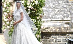 Pippa Middleton từng ăn kiêng nghiêm ngặt để diện váy cưới