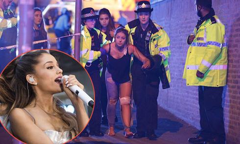 19 người thiệt mạng trong vụ tấn công khủng bố đêm nhạc của Ariana Grande