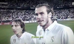 Bale và Modric sửng sốt 'khó đỡ' khi không có Cup để ăn mừng