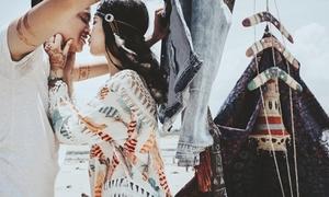 Ảnh cưới bohemian phong cách thổ dân da đỏ của cặp đôi Hà Nội