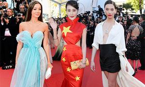 10 thảm họa thời trang trên thảm đỏ Cannes 2017
