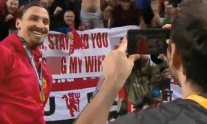 Fan 'chấp nhận' để Ibrahimovic ngủ với vợ mình