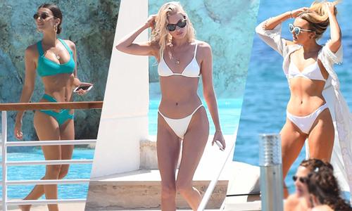 Dàn sao Hollywood nóng bỏng khoe dáng với bikini ở Cannes