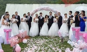 Lớp đại học có 8 cặp đôi cưới nhau cùng một ngày