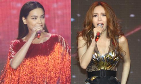 Hồ Ngọc Hà, Minh Hằng được xếp hát xen kẽ nhau khi diễn trong cùng 1 show
