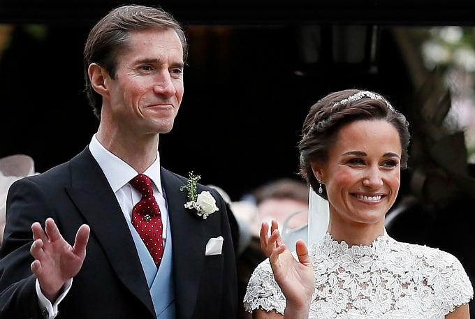 Em gái công nương Kate,Pippa Middleton và vị hông phu đại gia tài chính James Matthews lựa chọn