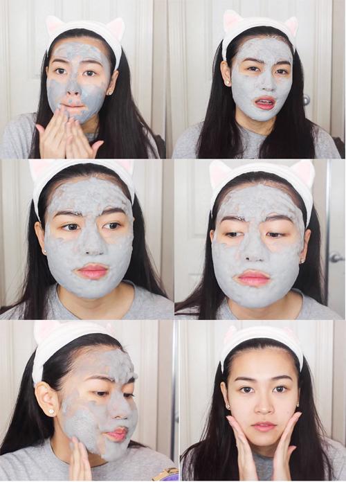 quá trình tạo bọt của mặt nạ chính là lúc oxy được giải phóng vào sâu trong da, giúp đào thải độc tố, làm sạch lỗ chân lông