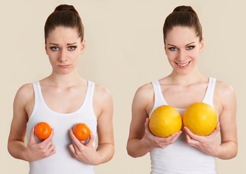 Bạn không thể nâng ngực kích cỡ trái quýt lên trái bưởi ngay lập tức.